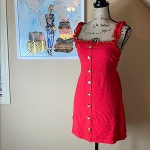 Skylar + Madison red dress size large